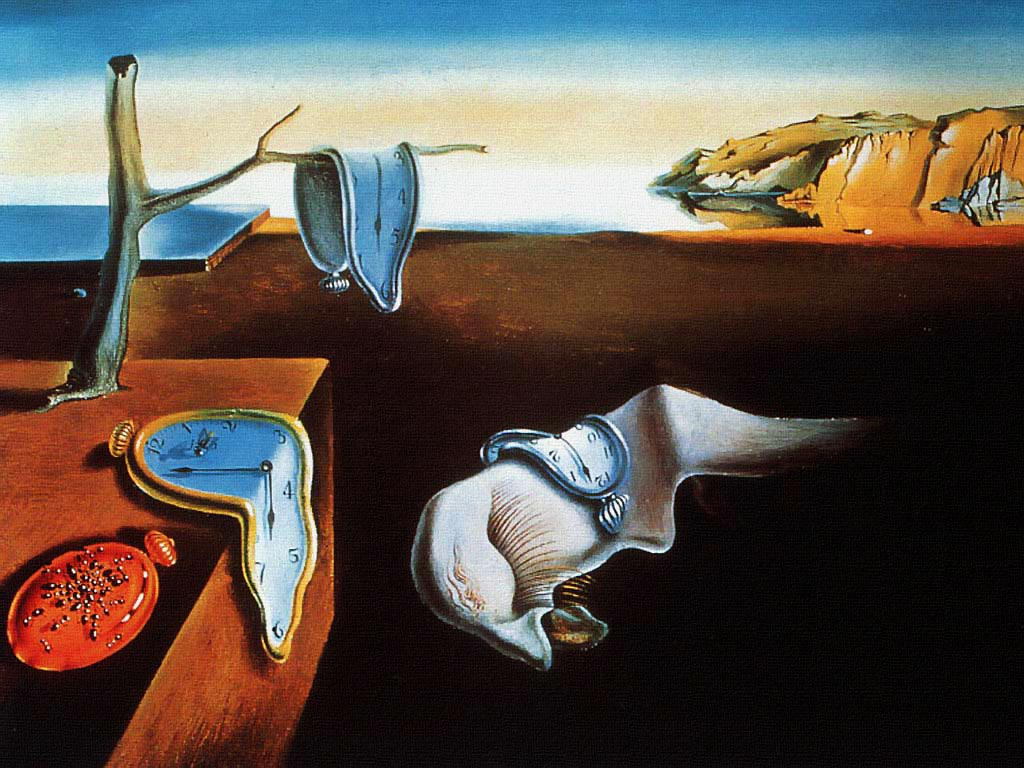 The persistence of memory, 1931. Από το 1934 βρίσκεται στη συλλογή του MoMA  (Museum of Modern Art) της Νέας Υόρκης