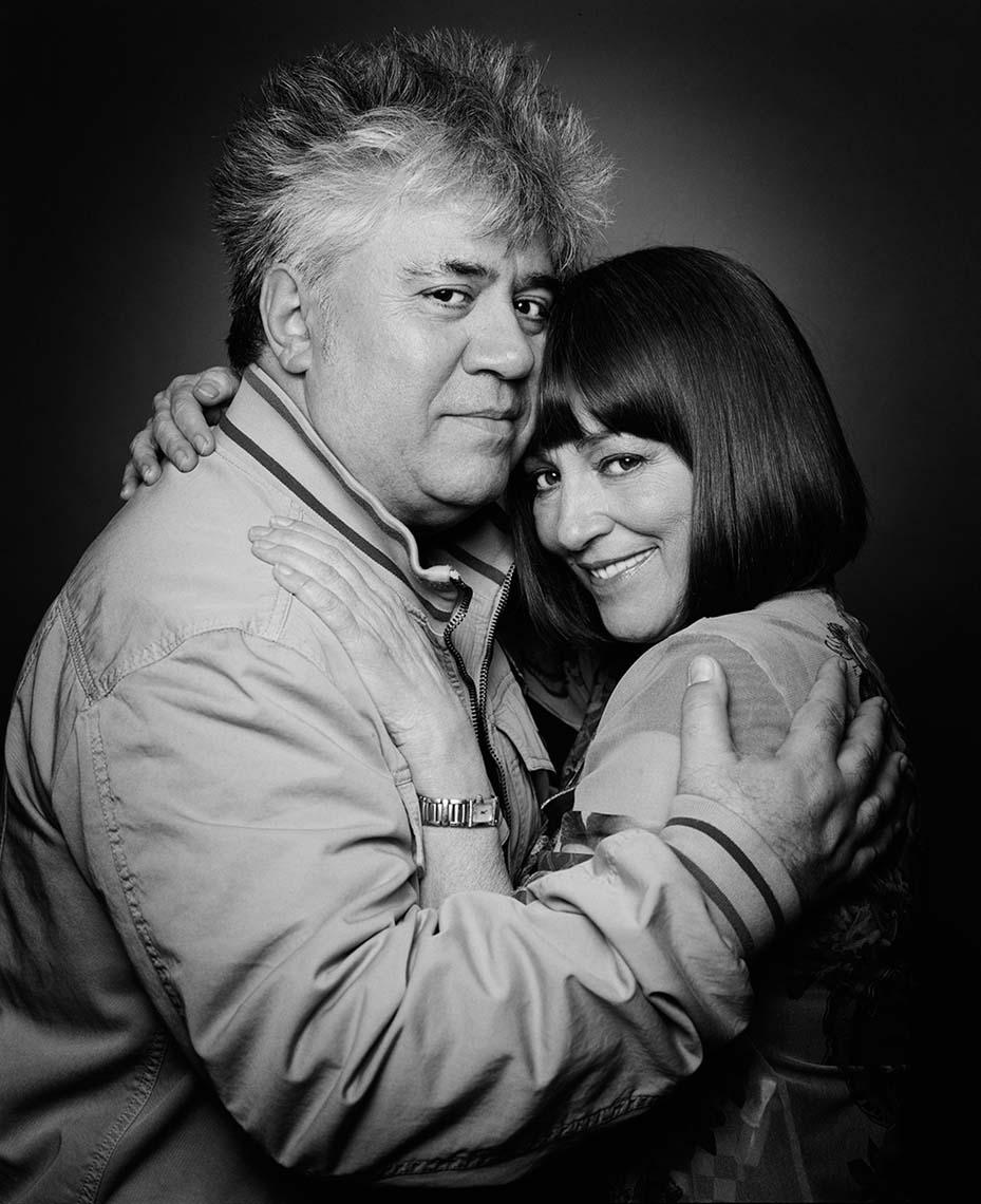 Ο Pedro Almodóvar με την Carmen Maura. Φωτογραφία: Vincent Lignier