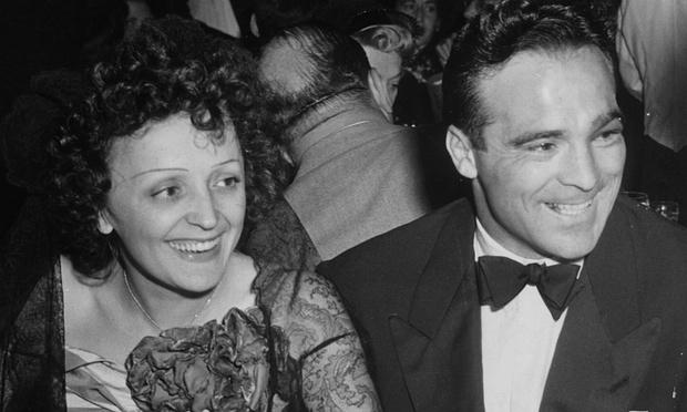 Η Edith Piaf με τον Marcel Cerdan στο nightclub Versailles, στη Νέα Υόρκη, το 1940