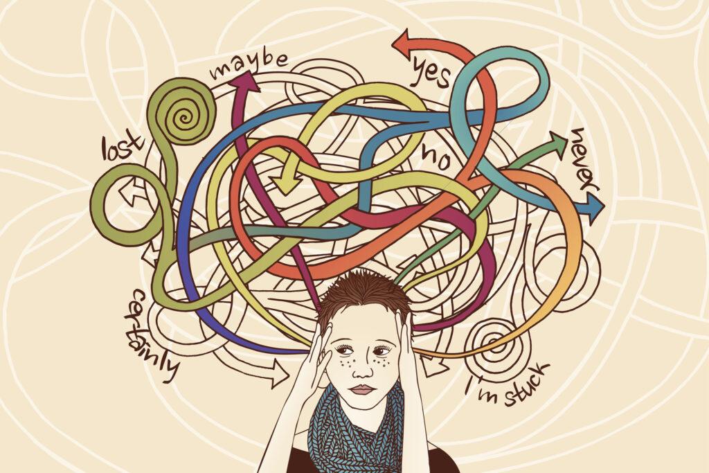 Πώς να σταματήσεις να υπεραναλύεις τα πάντα - Loukini Project Podcast - Επεισόδιο 24 - υπερανάλυση - overthinking